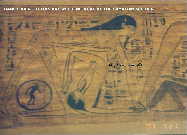 Egyptian hieroglyphics pornography